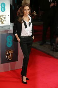 2013 BAFTAs - wearing Saint Laurent