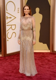 2014 Academy Awards - wearing Elie Saab Couture