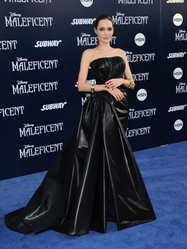 2014 Maleficent Premiere - wearing Atelier Versace