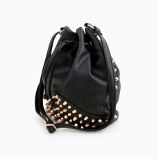 Dailylook €44 - http://www.dailylook.com/p/Currant-Events/Studded-Bucket-Bag/50397.html