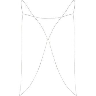 River Island €8 (Silver version) - http://eu.riverisland.com/women/jewellery/body-jewellery--capes/Silver-tone-thin-chain-body-harness-655030