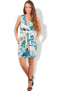 Closet €52 - http://www.closetclothing.co.uk/closet-floral-tie-front-dress-5737.html