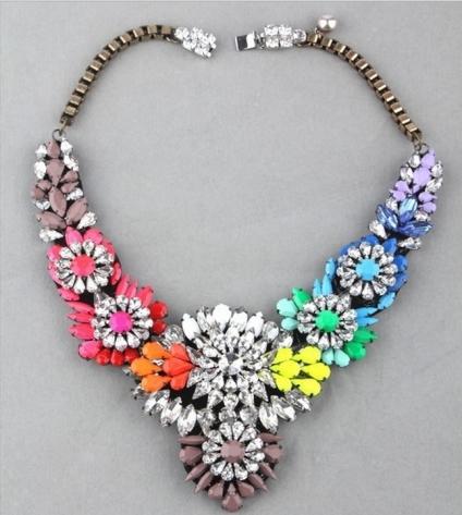 Glitz N Pieces €30 - Dazzling Diamond Necklace http://bit.ly/1yYlnmg
