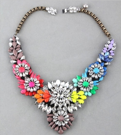 Glitz N Pieces €30 - Dazzling Diamond Necklace http://bit.ly/1yYlnmg