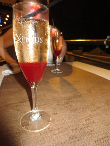 La Brasserie - Rossini cocktails