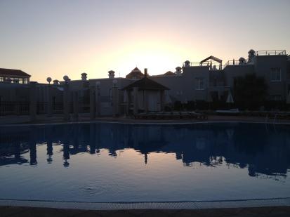 Los Olivos - Pool area