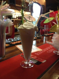 Moonlight Bar - Chocolate Cream cocktail
