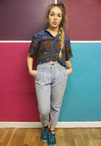 Tola Vintage €30.38 - Vintage High Waisted Mom Jeans http://bit.ly/1rC2sMI