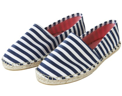 ONLY 29.95 - Stripe Printed Shoes http://bit.ly/1mb4eRa