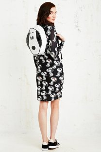 Rodnik X Peanuts €115 - Quilted Snoopy Head Backpack in White http://bit.ly/KillerFashion-UO2