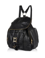 River Island €40 - Black Zip Trim Rucksack http://bit.ly/killerfashion-ri1