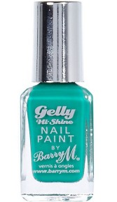 Barry M €5.99 - Gelly Nails in Kiwi http://bit.ly/WpyrD8