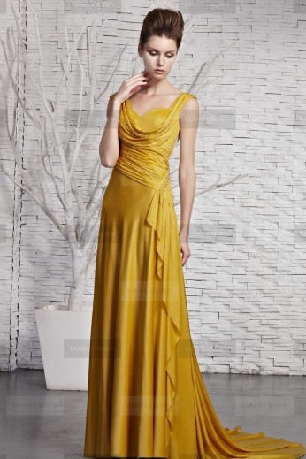 Fanny Crown €399 - Brilliant Beaded Yellow Party Dress http://bit.ly/TWCWmH