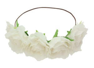 Oasis €15 - Rose Hair Garland http://bit.ly/1lW0IKJ