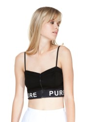 Bershka €19.99 - zipper crop top http://bit.ly/UtC6xZ