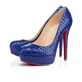 Christian Louboutin €1,075 - Bianca Python Crystal http://bit.ly/TWCMvP