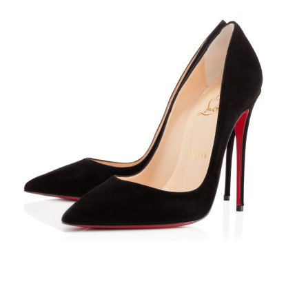 Christian Louboutin €485.53 - So Kate Suede Pumps http://bit.ly/1q8iSsd