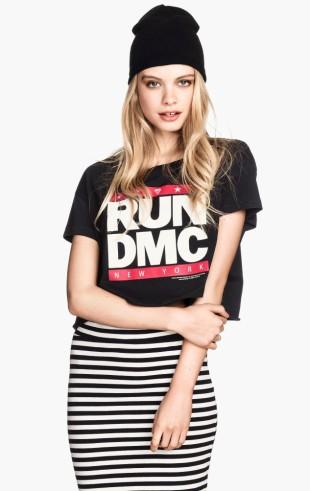H&M €16.49 - RUN DMC Short T-shirt http://bit.ly/WEZvhC