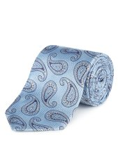 Marks & Spencer €47.50 - Collezione Luxury Silk Paisley Tie http://bit.ly/1rFAOOZ