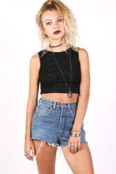 Yayer €20.25 - Night Knit Crop http://bit.ly/1ruz89t