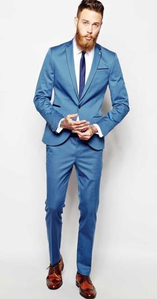 Noose & Monkey €281.68 - Skinny Suit http://bit.ly/1lGw5Fv
