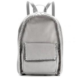 Stella McCartney €895 - Falabella faux-suede backpack http://bit.ly/KillerFashion-stella