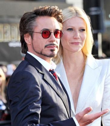Robert Downey Jr & Gwyneth Paltrow