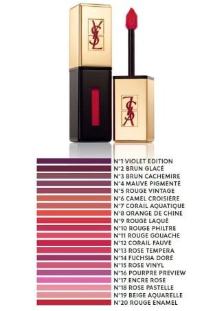 Yves Saint Laurent €33 - Rouge Pur Couture Vernis À Lèvres http://bit.ly/VcsNmQ
