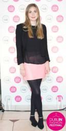 Aoibhinn of Evoke.ie wears Warehouse, Penneys, Zara & Sophie Hulme