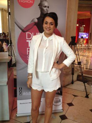 Zoe wears Penneys, River Island & Zara