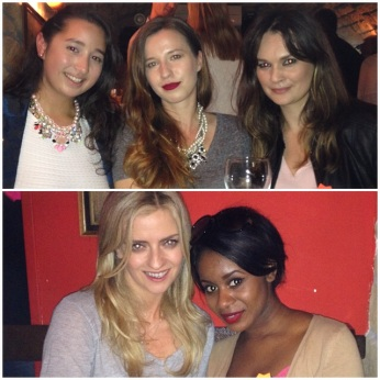 (Clockwise from top left) Myself, Alex of Pink Elephant Blog, Marina of Beautiful Me Plus You, Filomena of Enhance What's Yours & Becky of Pink Elephant Blog