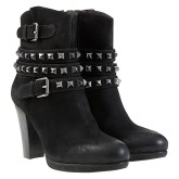 Mint Velvet €203.50 - Biker Style Heeled Leather Ankle Boots http://bit.ly/1vzHXyR