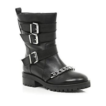 River Island €85 - Chain Trim Biker Boots http://bit.ly/1rnt4kP