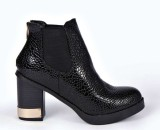 Boohoo €44.99 - Lucy Croc Effect Chelsea Boot http://bit.ly/1Bx3UR1