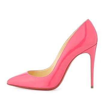 Christian Louboutin €579.34 - Pigalle Follies Pink Patent http://bit.ly/10ldTgG