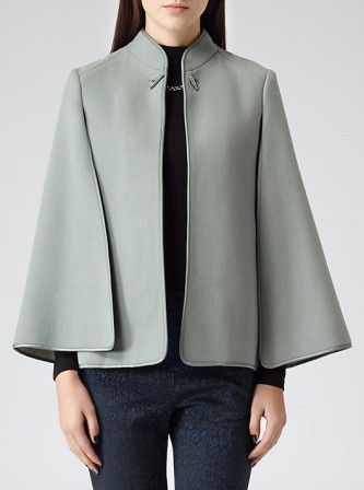 Reiss €295 - Vreeland Tailored Flared Cape http://bit.ly/1x0JIFR