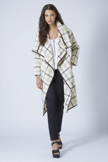 Topshop - €190 Premium Textured Blanket Coat http://bit.ly/1sGM4Jo