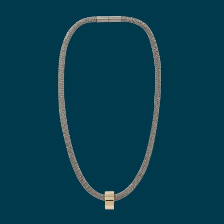 Edge Only by Jenny Huston €385 - 14ct Gold Marquise Bead Necklace http://bit.ly/1wywGyW