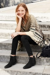Next €32 - Neutral Check Cape http://bit.ly/1rXWAb7