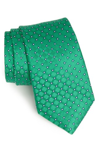 Nordstrom €46.79 - Woven Silk Tie in Lagoon Green http://bit.ly/1nMRW53