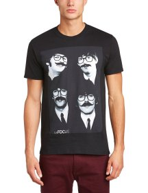 Subfocus €25.45 - The Moustached Foursome T-Shirt http://amzn.to/1zQWA78