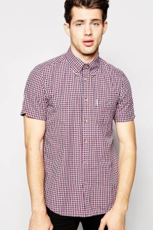 Ben Sherman €39.40 - Short Sleeve Mini Check Shirt http://bit.ly/1iAvdYH