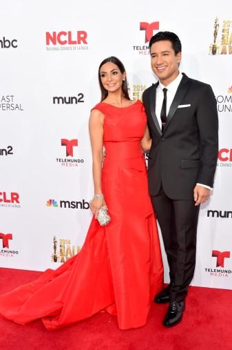 Courtney Mazza & Mario Lopez