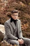 DK x LC from €789 - The Tom Suit & Black/ White Wide Lapels Herringbone Coat