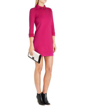 Ted Baker €180 - Eelah Embellished collar dress http://bit.ly/1v0cWGd