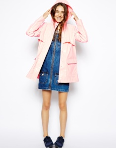 ASOS €64.29 High Shine Rain Mac http://bit.ly/1xAbskM