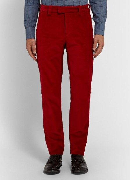 Michael Bastian @ Mr Porter €280 - Slim Fit Corduroy Trousers http://bit.ly/1NAukdz