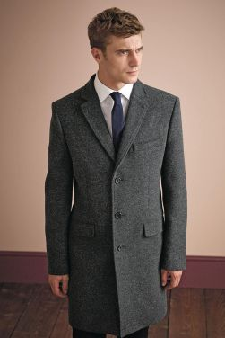 Next Signature €207 - Charcoal Epsom Coat http://bit.ly/1NGCy5t