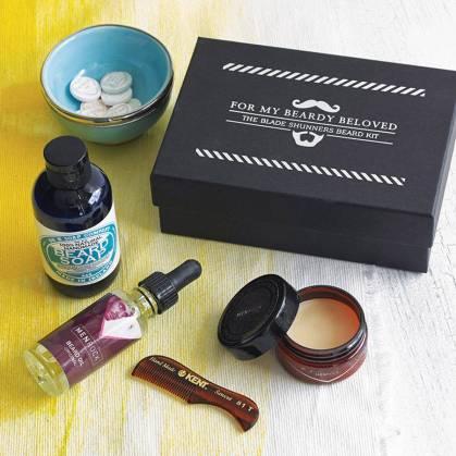 Men Rock €38.84 - Beard And Moustache Care Gift Set http://bit.ly/1s05Dd1