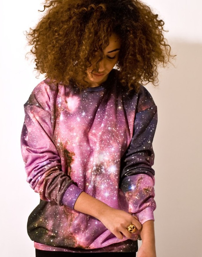 The Final (Fashion) Frontier €50.89 - Galaxy Sweatshirt http://bit.ly/1wN84DW